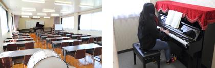 音楽棟(ピアノ練習室)