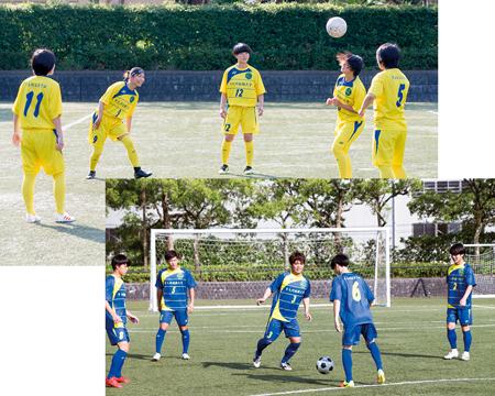 女子サッカー部・八代フューチャーズ(男子)